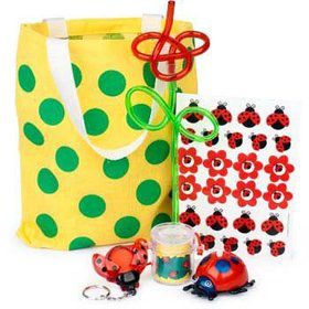 Ladybug Party Ultimate Favor Kit (for 1 Guest)