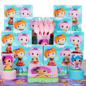 Lalaloopsy Birthday Party Deluxe Tableware Kit Serves 8