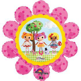 "Lalaloopsy Flower Shape 29"" Balloon (Each)"