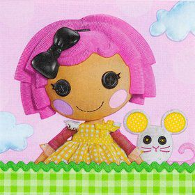Lalaloopsy Luncheon Napkins (16 Count)