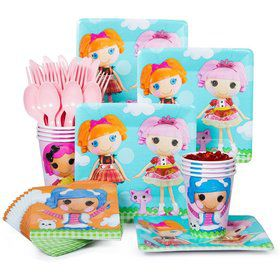 Lalaloopsy Standard Birthday Party Tableware Kit Serves 8