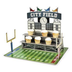 Large Football Stadium Cupcake Stand (1)