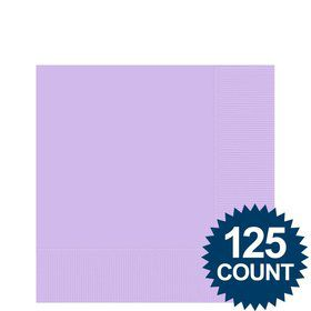 Lavender Beverage Napkins (125 Pack)