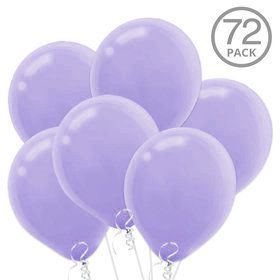 Lavender Latex Balloons (72 Count)
