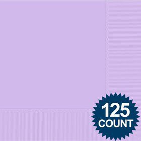 Lavender Luncheon Napkins (125 Pack)