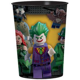 Lego Batman 16oz Plastic Favor Cup (Each)