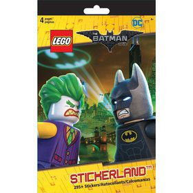 Lego Batman Sticker Pad (Each)