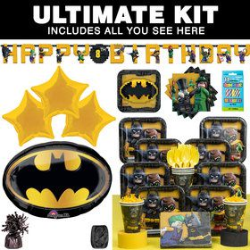 Lego Batman Ultimate Tableware Kit (Serves 8)