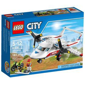 LEGO CITY Ambulance Plane 60116