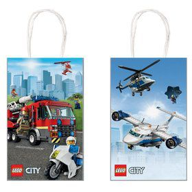 Lego City Kraft Favor Bags (8)