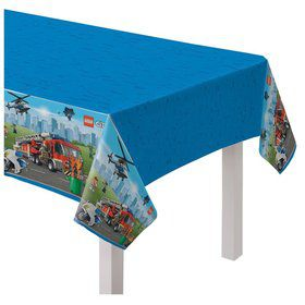 Lego City Plastic Table Cover