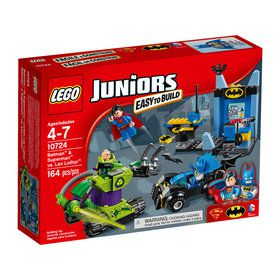 LEGO JUNIORS Batman & Superman vs. Lex Luthor 10724