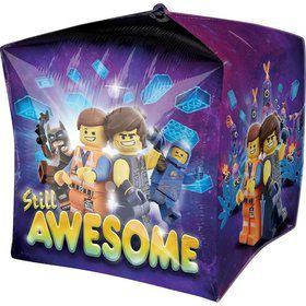 "Lego Movie 2 15"" Cubez Balloon (1)"