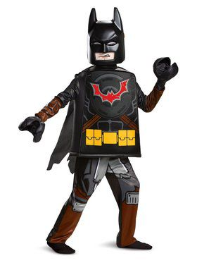 Lego Movie 2: Batman Deluxe Child Costume