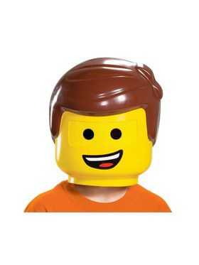 Lego Movie 2: Emmet Child Mask