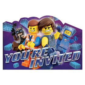 Lego Movie 2 Invite Postcard (8)
