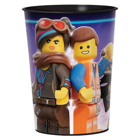 Lego Movie 2 Plastic Favor Cup (1)