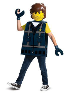 Lego Movie 2: Rex Dangervest Basic Child Costume