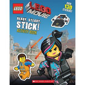 Lego Movie: Ready, Steady, Stick! Activity Book