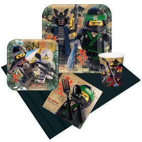 Lego Ninjagos 16 Guest Party Pack