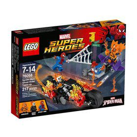 LEGO SUPER HEROES Spider-Man: Ghost Rider Team-up 76058