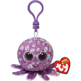 "Legs The Octopus 5"" Ty Bag Clip (Each)"