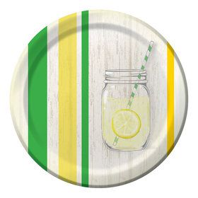 "Lemonade Days 9"" Lunch Plates (8 Count)"