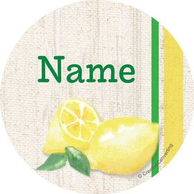 Lemonade Days Personalized Mini Stickers (Sheet of 24)
