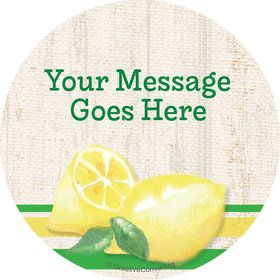 Lemonade Days Personalized Stickers (Sheet of 12)