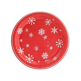 Let it Snow Dessert Plate (8)