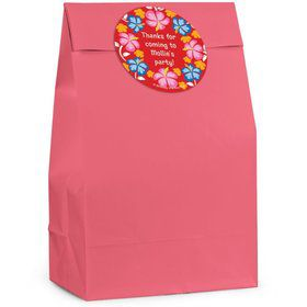 Let's Luau Personalized Favor Bag (Set Of 12)