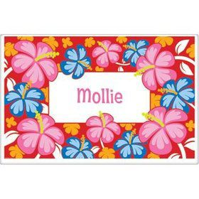 Let's Luau Personalized Placemat (each)