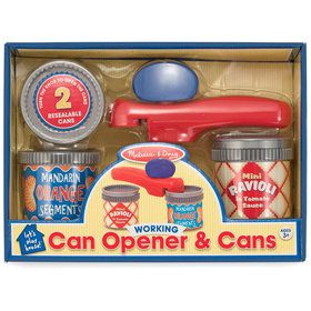 Let's Play House! Can Opener & Cans