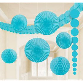 Light Blue Decoration Kit (9 Pieces)