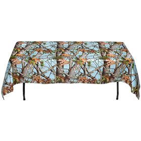 Light Blue Camo Table Cover (Each)