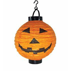 Light-Up Pumpkin Paper Lantern