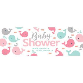 Lil Spout Pink Baby Shower Giant Banner