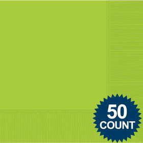 Lime 2-Ply Luncheon Napkins, 50 ct.