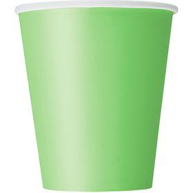 Lime 9oz Cups (14 Count)