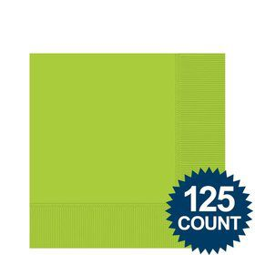 Lime Beverage Napkins, 125 ct.