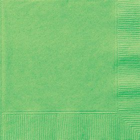 Lime Beverage Napkins (20 Count)