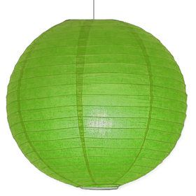 "Lime Green 10"" Paper Lantern Decorations (Each)"
