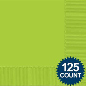 Lime Luncheon Napkins, 125 ct.