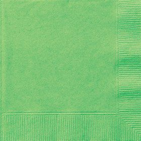 Lime Luncheon Napkins (20 Count)