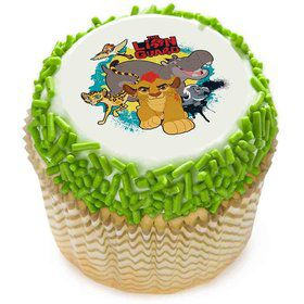 "Lion Guard 2"" Edible Cupcake Topper (12 Images)"