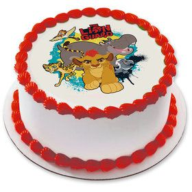 "Lion Guard 7.5"" Round Edible Cake Topper (Each)"