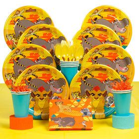 Lion Guard Deluxe Birthday kit Serves 8 Guests