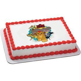 Lion Guard Quarter Sheet Edible Cake Topper (Each)