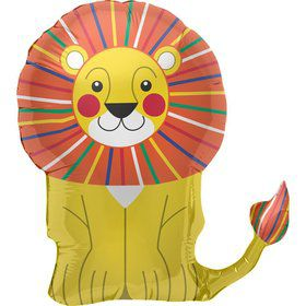 "Lion Head 35"" Balloon (each)"
