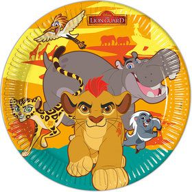 "Lion King Large 9"" Lunch Plates (8 Count)"